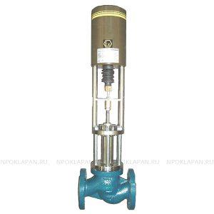 Клапаны по стандарту DIN c электроприводом (серия UNIWORLD Ду15-100 Ру16-40)