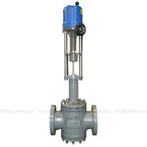 Клапаны по стандарту ANSI c электроприводом (серия UNIWORLD Ду15-200 Ру16-40)