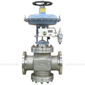 Клапаны по стандарту ANSI c пневмоприводом (серия UNIWORLD Ду15-200 Ру16-40)